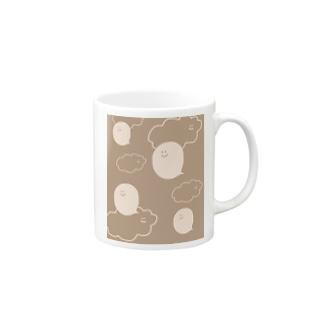 カフェそら  コマくんとフキダシおばけ Mugs