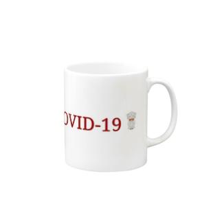 COVID(コビッド・コヴィッド) Mugs