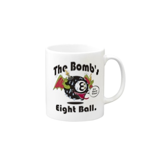 The Bomb's Eight Ball Mugs