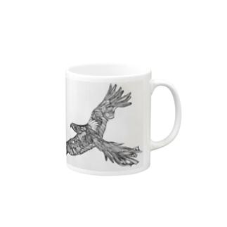 鳥湯呑 Mugs