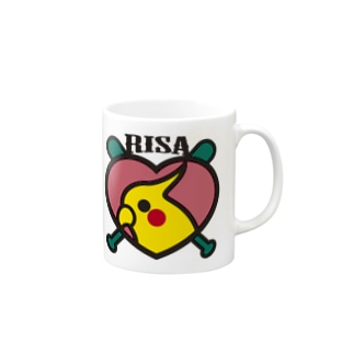 パ紋No.2430 RISA Mugs