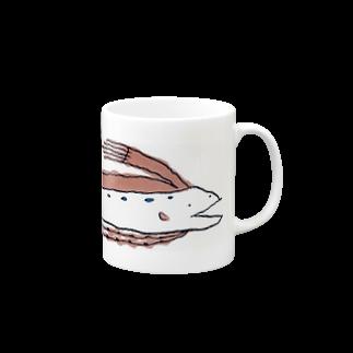 うちわえびのリュウグウノツカイ☆ Mugs