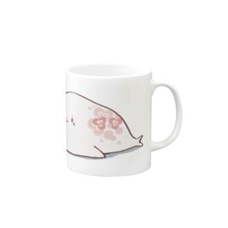 ミツバアザラシマグ Mugs