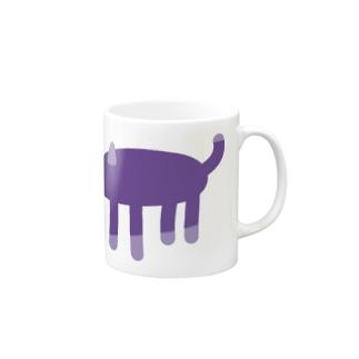 ヤミネコ Mugs