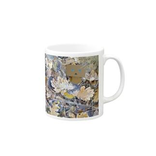 ダンボーと落ち葉 Mugs