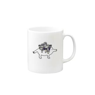 うずまきあらし Mugs