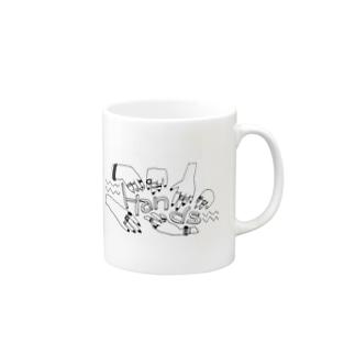 Handsマグカップ Mugs