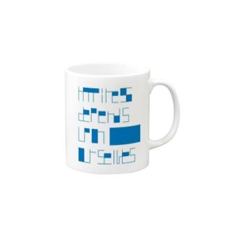 Aristotle blue Mugs