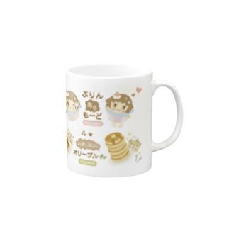 ぷりんとオリーブル Mugs