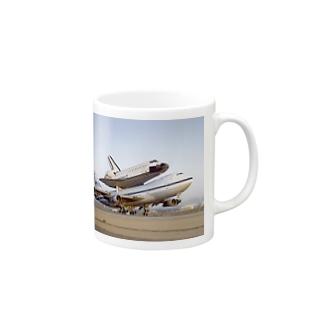 ジャンボ&スペースシャトル Mugs