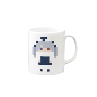 PixelGirl - yandere マグカップ