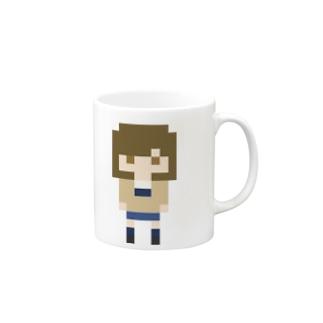 PixelGirl - megumi マグカップ