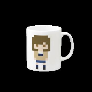 room6のPixelGirl - megumiマグカップ