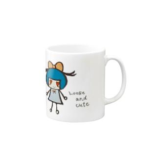 リボンちゃん Mugs