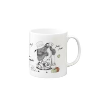 【ビントロングキングダムシリーズ】ビントロングのフルーツパティシエ ~もっとリンゴ~ Mugs
