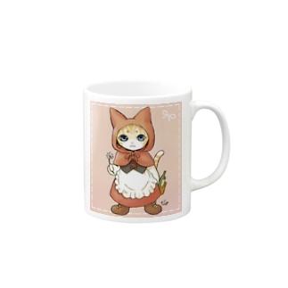赤ずきん猫ちゃん Mug