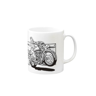 Seaside Rider Mugs