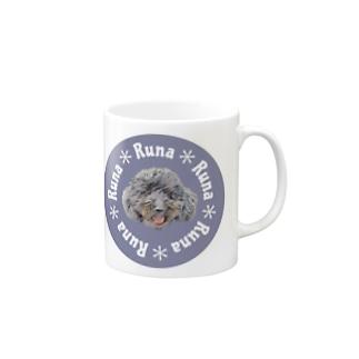 よっしぃのRuna Mugs