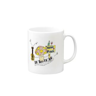 ハイピッチwithきのこになりたい Mugs