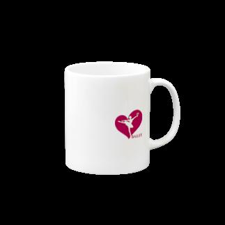 YuriBalletのバレエ マグカップ