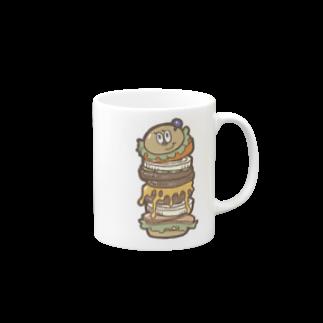YMDのBurger Mugs