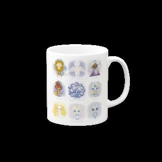 alpacca-creativeのThe Starseed(ザ・スターシード) Mugs