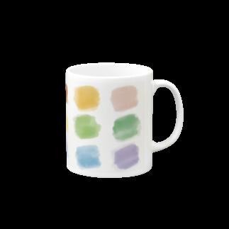 TK-marketの虹色 Tシャツ Mugs
