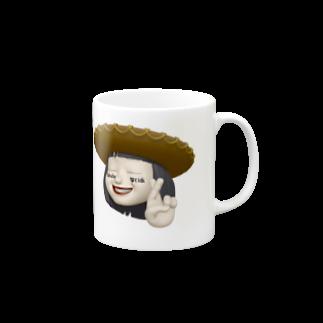 KARAaGEのわし Mugs
