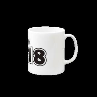genjinatestのコロナイヤ 56718 Mugs