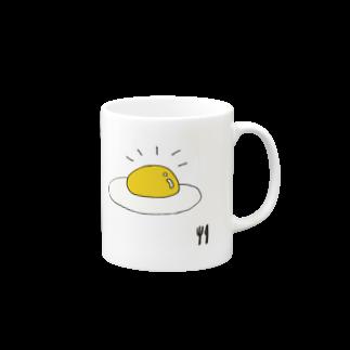 sbkscomのsunny-side up  Mugs
