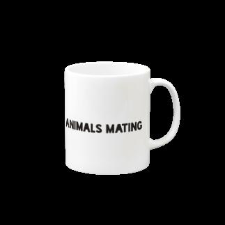 Animals MatingのAnimals Mating(犬の交尾) Mugs
