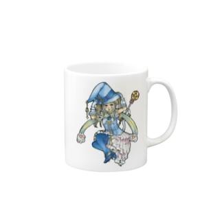 魔法少女miku カラー Mugs