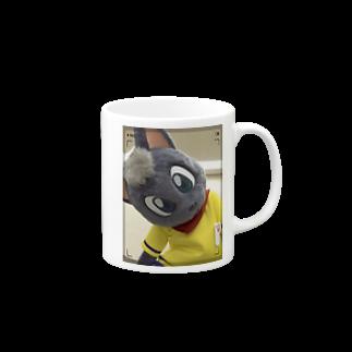 魚の夢CHの黒猫ポピー マグカップ