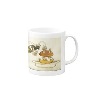 ダモ鈴木(ex.CAN) x U.F.O.CLUBオリジナルマグカップ Mugs