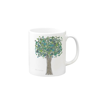 This is a tree Mugs