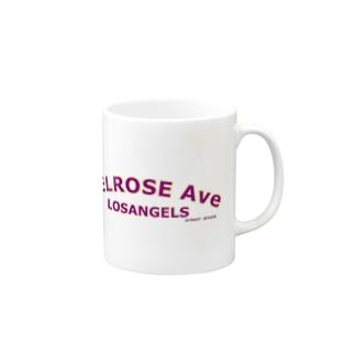 MELROSE Ave LOSANGELS  Mugs