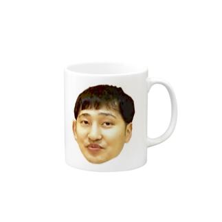 手乗りかおつんシリーズ Mugs