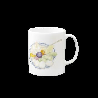 すこやかのフルーツクリームあんみつ Mugs