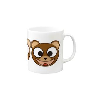 スマイリーベアー (マルチ) Mugs