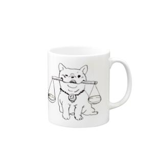 天秤座 フレブル Mugs