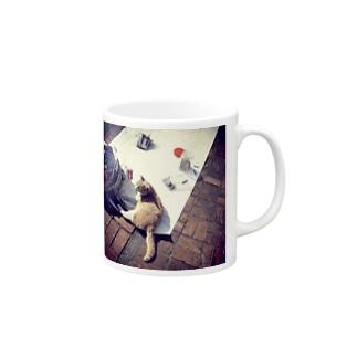 愛芸猫 Mugs