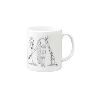 nica 2(eerie-eery) Mugs