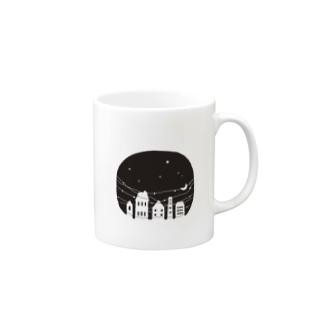 夜の街 Mugs