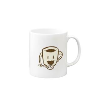 自分で作ってくれるコーヒーマグカップ Mugs