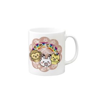 ピコピコうさたん(うさぎの妖精) Mugs