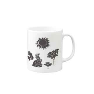 紫外線注意 Mugs