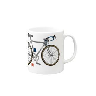 分断サイクル Mugs