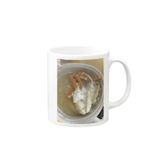 飯テログッズ2〜カニ鍋〜 Mugs