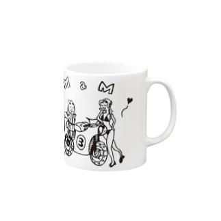 『まっ!!』猫 Mugs