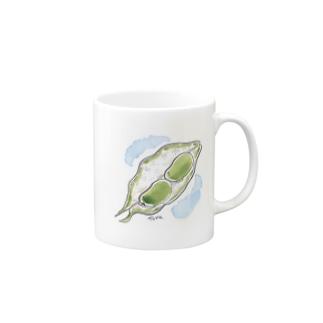 ソラマメ Mugs